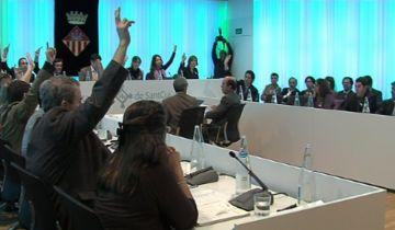 Suport del ple a la consulta ciutadana sobre la independència de Catalunya
