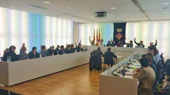 Reviu el ple municipal d'aquest dilluns en un vídeo de la sessió íntegra