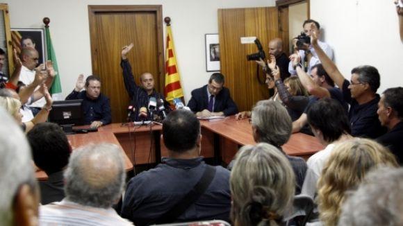 La CUP vol que Sant Cugat es declari 'territori català lliure'