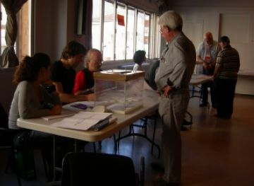 Col·legi electoral ubicat a la Casa de Cultura