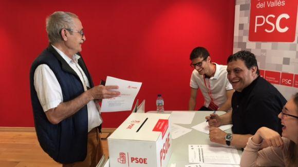 El 79% de la militància inscrita al cens del PSC de Sant Cugat vota a les primàries
