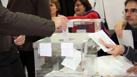 El cens electoral de les municipals es pot consultar fins al 13 d'abril