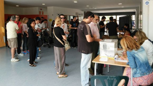 La majoria d'electors ha votat forces independentistes