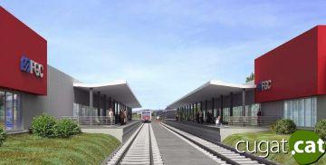 Talls de circulació als FGC entre Sant Cugat i Bellaterra per les obres de la nova estació