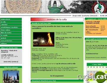 Els Castellers estrenen una nova pàgina web