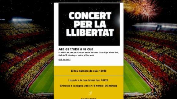 ANC i Òmnium reuneixen 400 santcugatencs per anar al Concert per la llibertat