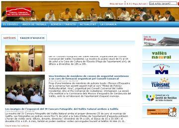 Nova web del Consell Comarcal del Vallès Occidental