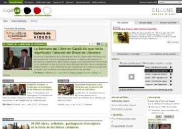 Cugat.cat col·labora amb la Setmana del Llibre amb una cobertura multimèdia
