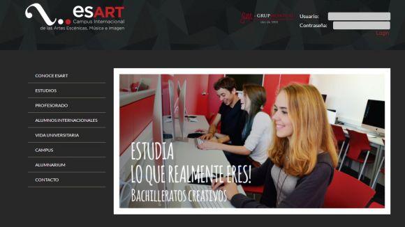 El campus Esart posarà en marxa els estudis universitaris el proper curs