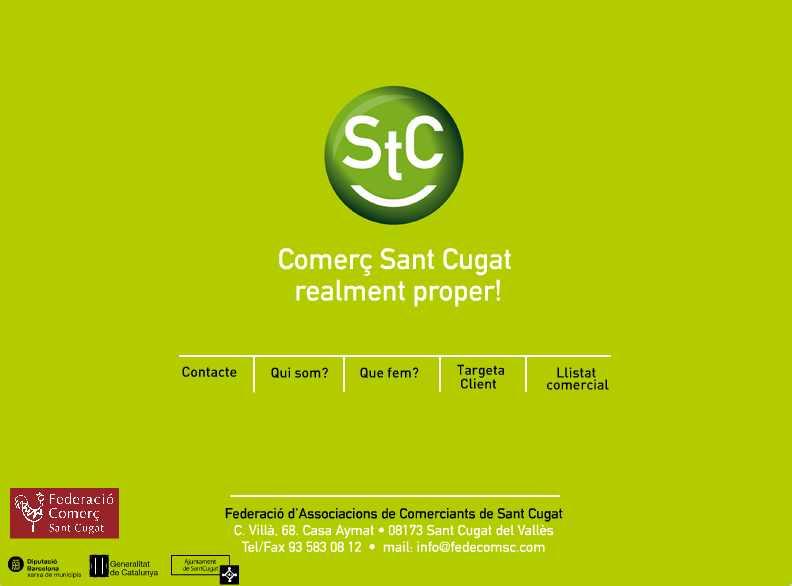 La Federació d'Associacions de Comerciants renova la seva web
