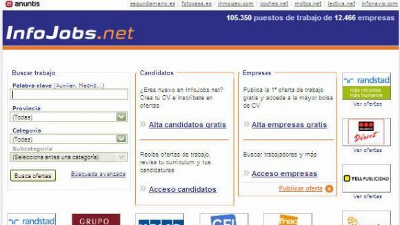 Web d'Infojobs
