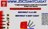 Portada de la nova web de les Joventuts Socialistes de Sant Cugat