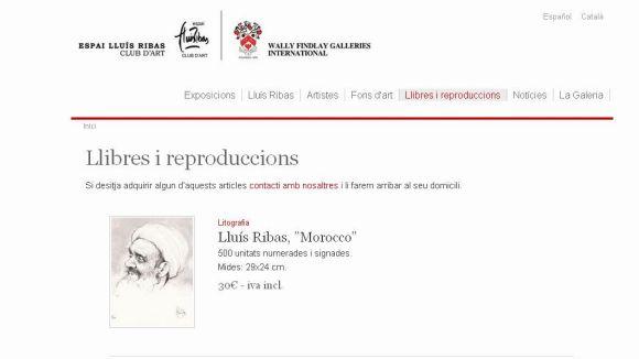 L'Espai Lluís Ribas estrena la secció 'Llibres i reproduccions'