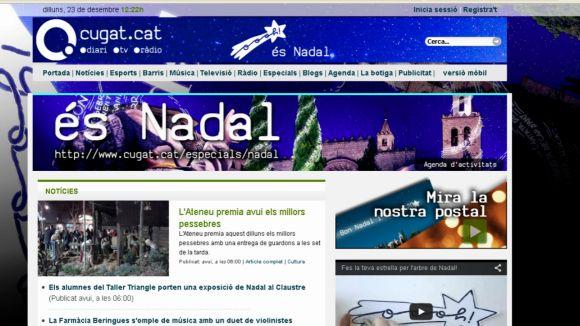 Cugat.cat ofereix un web especial de Nadal