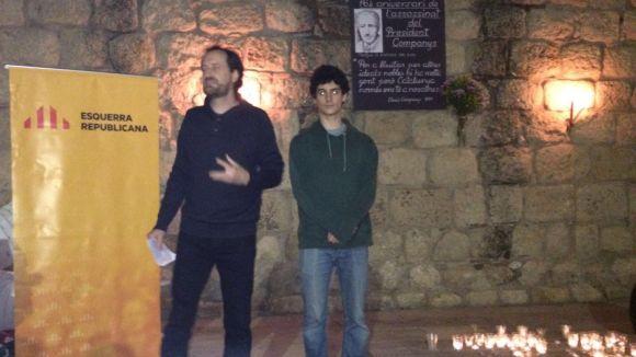 ERC demana 'valentia' per fer possible la república catalana en el 76è aniversari de la mort de Companys