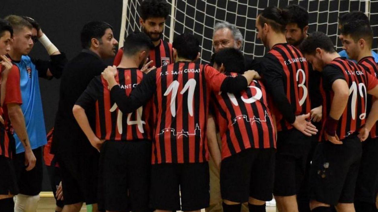 El Futbol Sala Sant Cugat deixa escapar dos punts en empatar a 3 contra el Ripollet