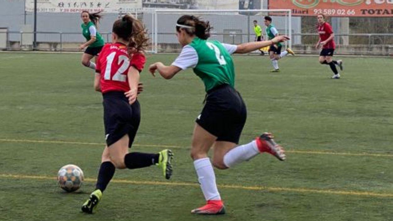 El Futbol Club Sant Cugat femení empata contra l'andorra / Font Cugat Mèdia