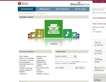 La Biblioteca Virtual, un servei que manté les biblioteques sempre obertes
