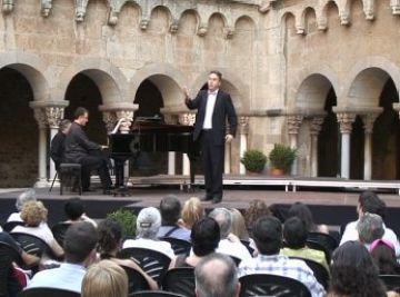 Xavier Aguilar, guanyador del Premi Camerata Sant Cugat