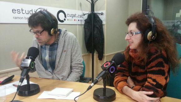 Xavier Blanch i la mezzosoprano Marta Rodrigo, al SAF