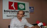 El president d'ICV a Sant Cugat, Xavier Boix