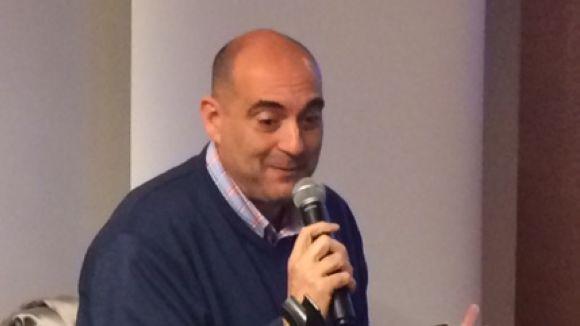 Xavier Bosch presenta a Sant Cugat la novel·la 'Nosaltres dos' amb el record de Francesc Garriga