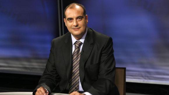 El periodista Xavier Bosch acaba de publicar la seva última novel·la // Foto: TV3