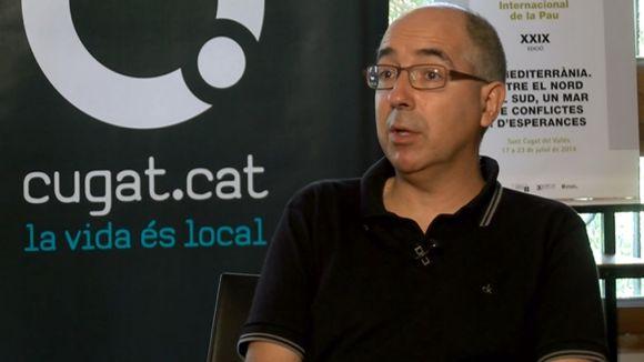 Xavier Casals: 'Als partits d'ultradreta se'ls ha de combatre amb idees'