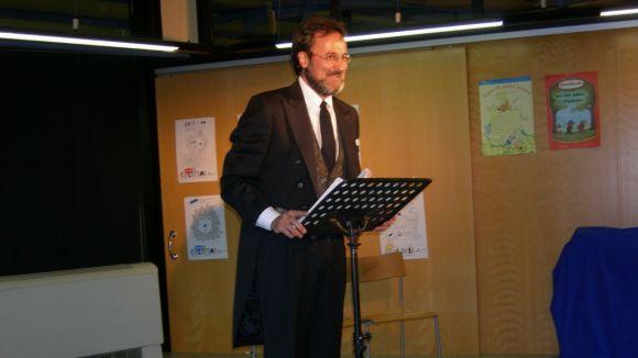 El monòleg de Graset commemora el vintè aniversari de la Biblioteca Gabriel Ferrater