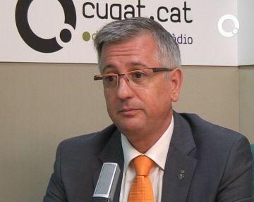 Xavier Martorell: 'Avançar les manifestacions de la Falange és encertat i ajustat'