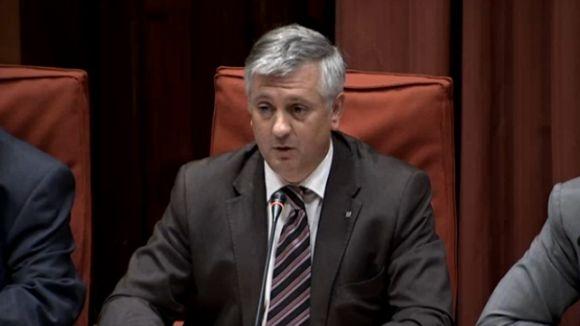Martorell, aquest dijous en comissió parlamentària / Font: Canal Parlament