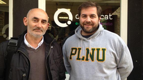 Xavier Requeno i Eloi Rovira destaquen la gran activitat esportiva de Sant Cugat