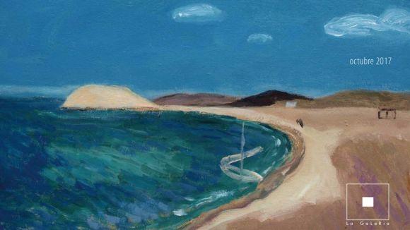 La GaLeRia inaugura avui una exposició de Xavier Salvador amb pintures sobre la mediterrània