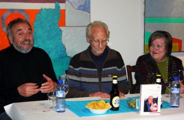 Morell, durant la presentació a la Canals