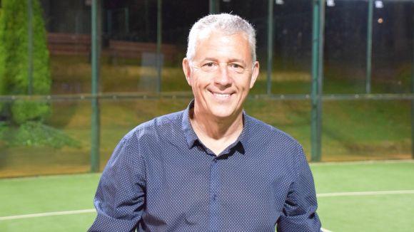 Xavi Prunera, candidat a la presidència del Club Tennis Natació Sant Cugat / Font: Cedida