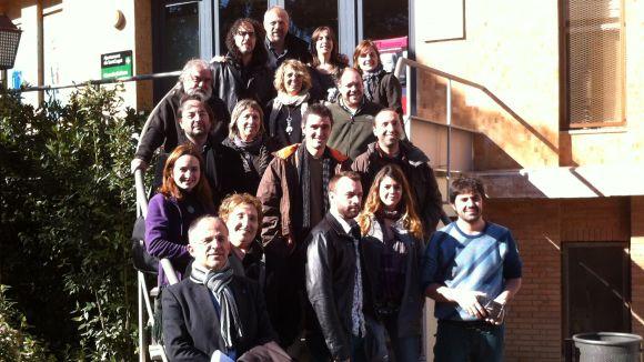 Foto de grup dels protagonistes de la programació