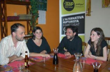 Participants del sopar-xerrada