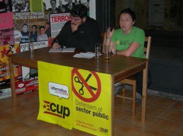 La CUP reivindica la importància dels sindicats de classe en el procés d'alliberament nacional