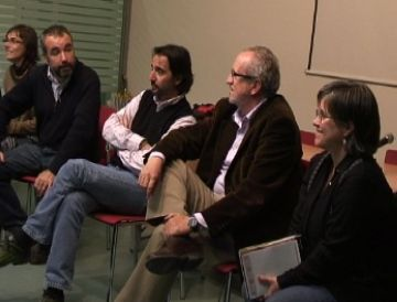 Camacho ha participat en una xerrada organitzada per les delegacions d'Intermón Oxfam de Sant Cugat, Terrassa i Sabadell