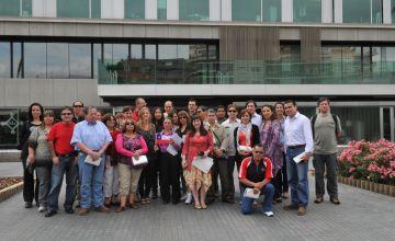 Visita de professors xilens per conèixer el model educatiu local