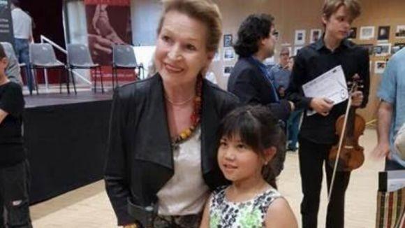 La santcugatenca Yujin Pons Jeon, segon premi del 1r concurs de violí de Barcelona