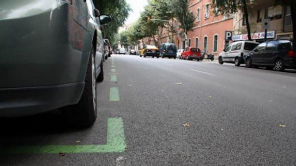 L'Ajuntament posarà en marxa les zones d'aparcament verda i taronja aquest any