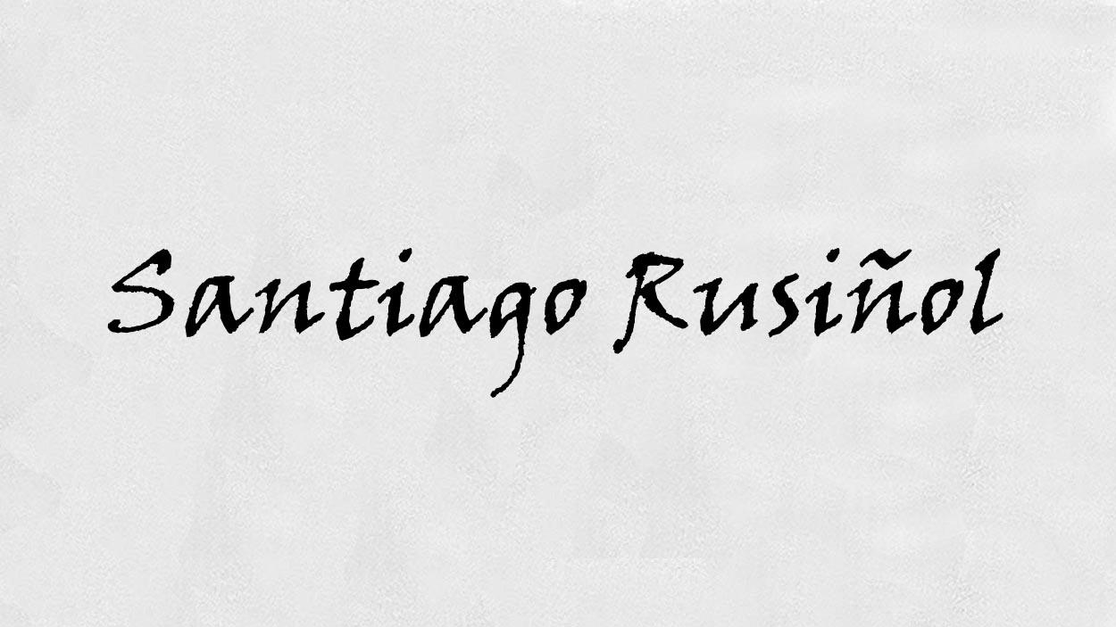 Santiago Rusiñol. Fitxa tècnica