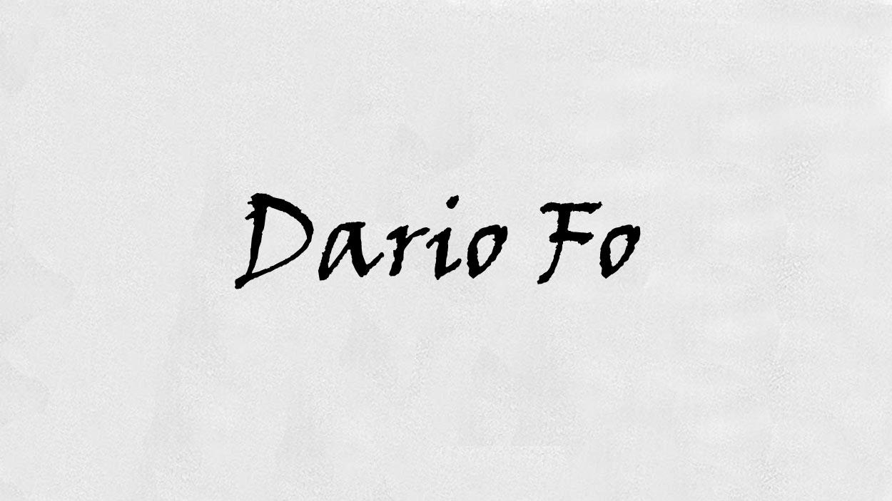 Dario Fo. Fitxa tècnica