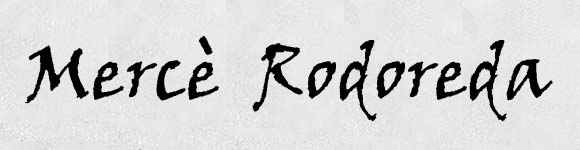 Mercè Rodoreda, octubre 2020